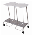 Foot operated Linen Trolley