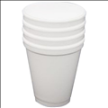 Emperor White EPS Foam 250ml Hot Cup