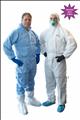 Disposable Splash Resistant Coveralls
