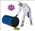 Disposable Microporous Water Resistant Coveralls