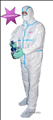 Disposable Microporous Waterproof Coveralls